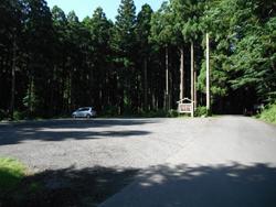 山神社無料駐車場