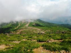 地蔵山方面