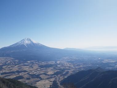 富士山展望台より景色