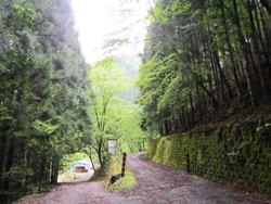 戸中林道ゲート