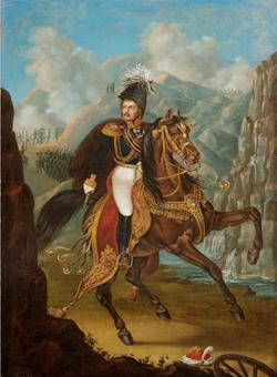 Генерал-фельдмаршал И.Ф. Паскевич, князь Варшавский, граф Эриванский. Неизвестный художник