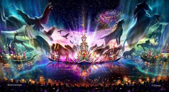 """Rivers of Light"" concept art"