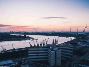 antwerp belgium, architecture, boat, building, capital, city, cityscape, dusk, europe, landmark, light, night, reflection, ship, sky, skyline, sunset, tourism, travel, twilight, urban, water
