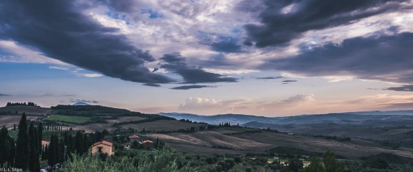 Montepulciano, cloud, countryside, daylight, field, fog, idyllic, italian, italy, landmark, landscape, light, mist, morning, nature, outdoors, rural, scene, sky, toscana, tree, tuscan, tuscany, view