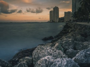 Bayside, america, bay, beach, beautiful, building, city, downtown, evening, florida, island, landscape, market, miami, no person, ocean, outdoors, pier, sea, seascape, seashore, sky, skyline, summer, sunset, travel, tropical, water
