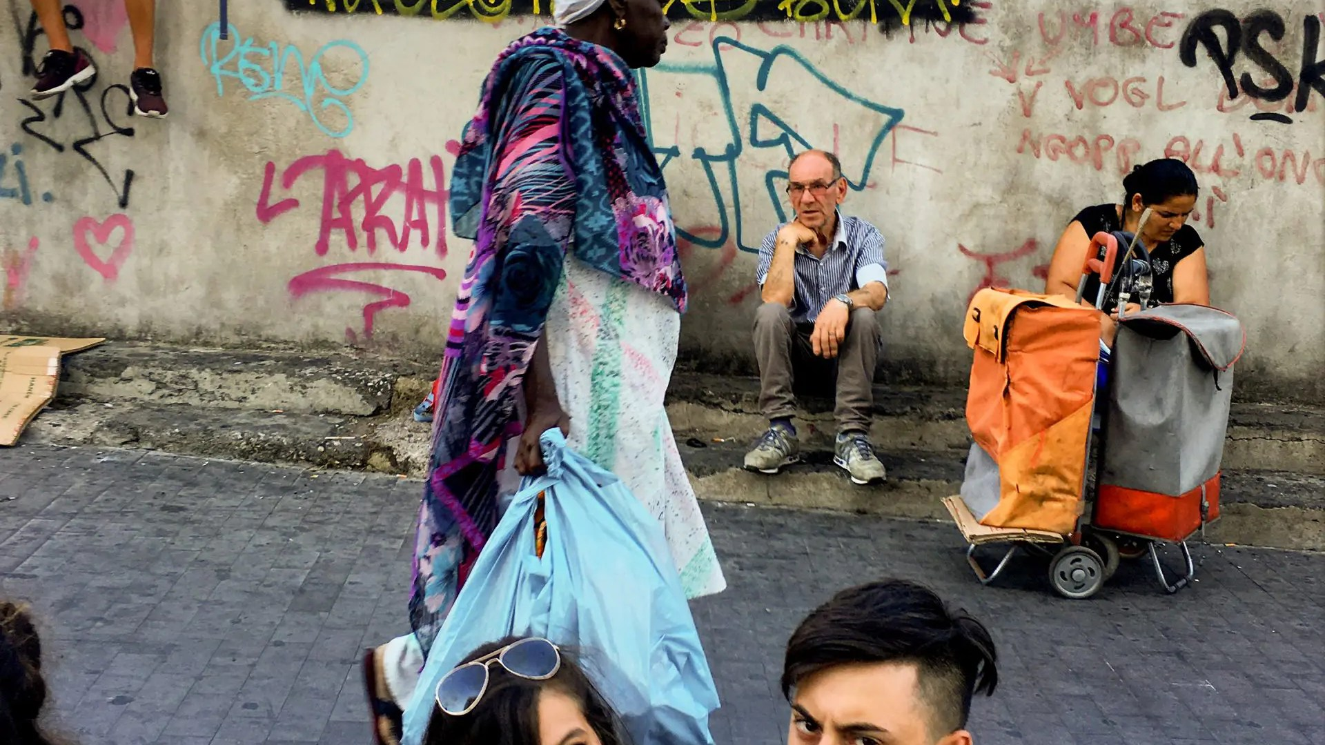 Naples mix of cultures, Naples, Italy. ph. courtesy of ©Robert Herman