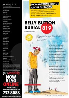 #819. Belly Button Burial in Go Weekly.