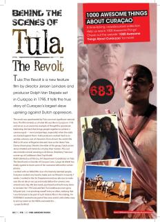 """#683. """"Behind the Scenes at Tula the Revolt"""" in Go Weekly."""
