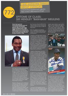 """#772. Interview with Sir Hensley """"Bam-Bam"""" Meulens featured in Go Weekly's 8th edition."""