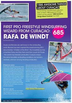 #685. Freestyle Wizard Rafael de Windt in Go Weekly magazine.