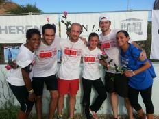 Team at Finish