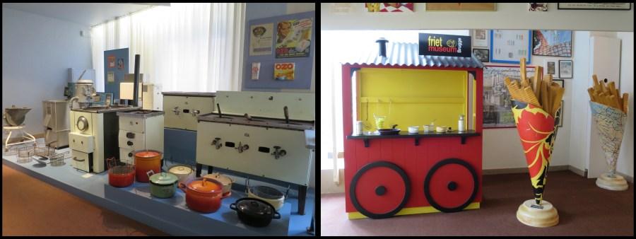 Visiter Bruges fauteuil roulant Musée frite