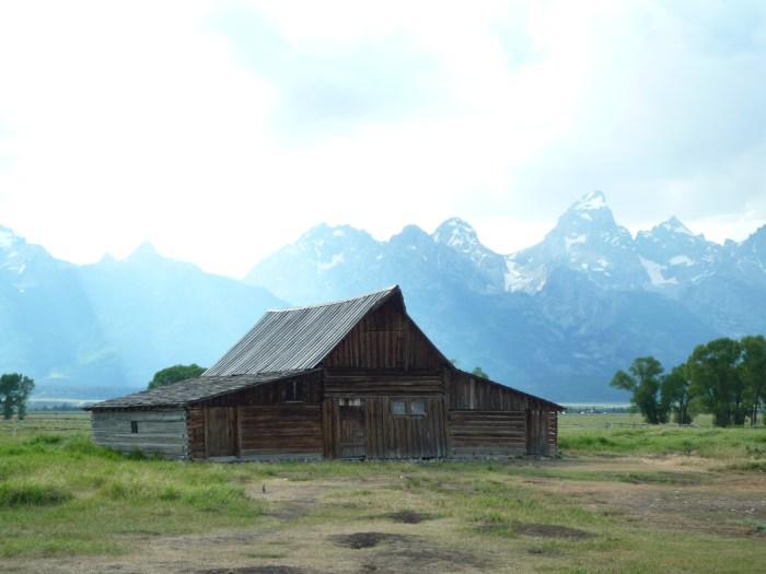 Ouest américain Grand Teton National Park Mormon Row