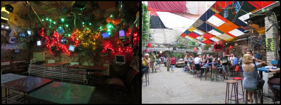 Budapest Szimpla Kert Pub Bar de ruine