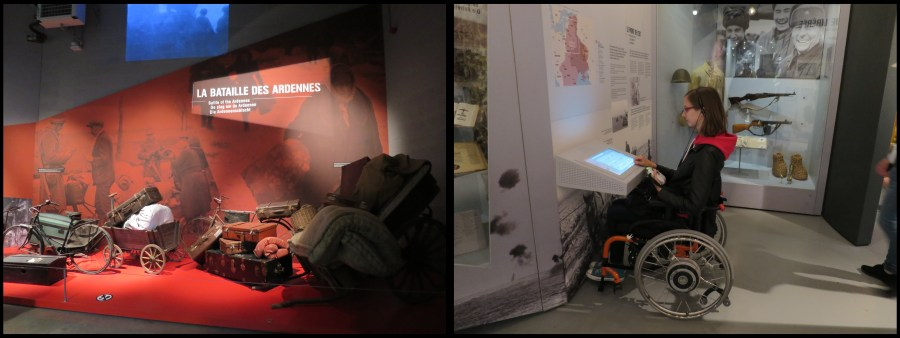Bastogne War Museum PMR handicap