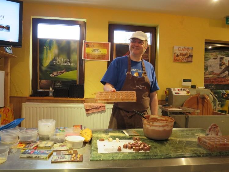 Cyril Chocolat chocolaterie Ardenne