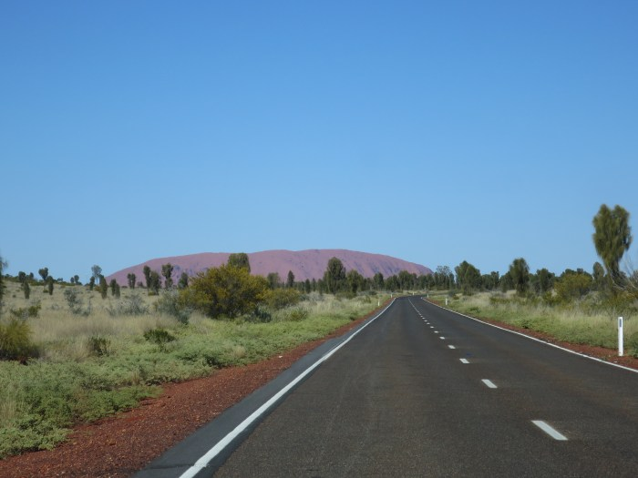Australia Road Uluru