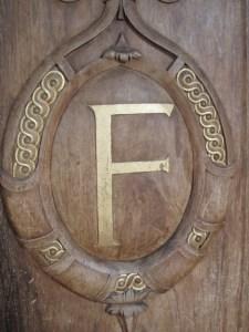 wood carved door