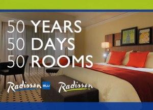 Hotel room giveaway