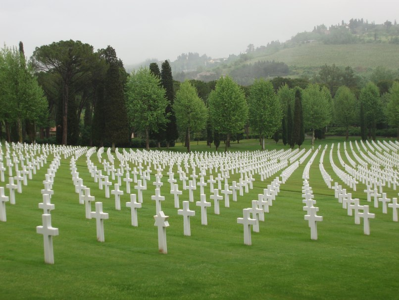 World War cemetery Italy