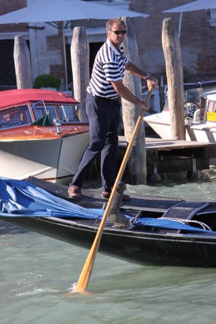 Gondola Driver in Venice