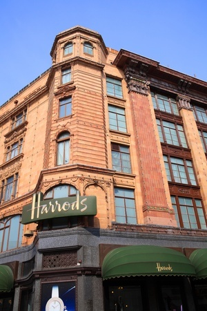 Shopping at Harrods