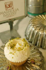 Enjoy a pistachio cupcake from the famous Magnolia's Bakery. Photo Courtesy: Magnolia's