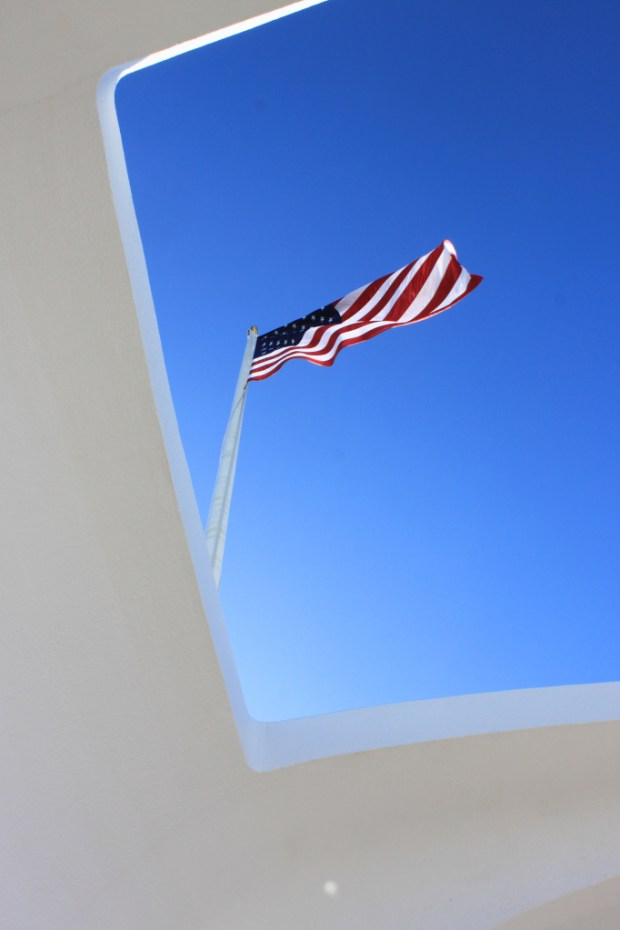 Pearl Harbor and the USS Arizona Memorial are reminders of the sacrifice of so many for freedom.   The Fighting Couple salutes those service men and women and their families that have given their all that we may live free.  Thank you.
