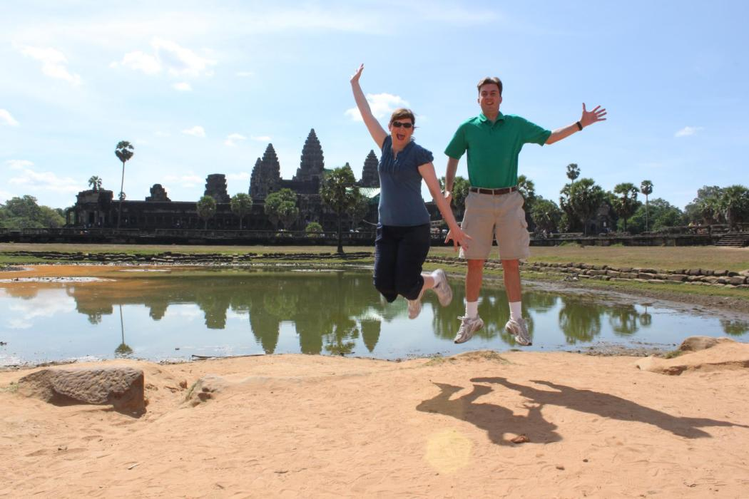 Taking a Siam Leap in Siam Reap!