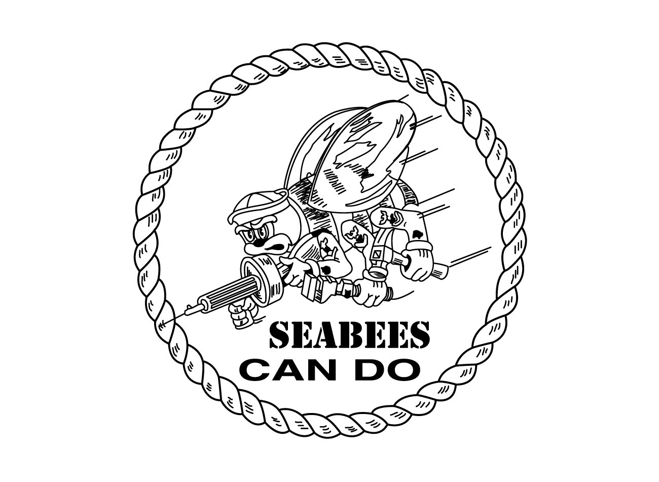 Seabees Logo Seabees Symbol Meaning History And Evolution