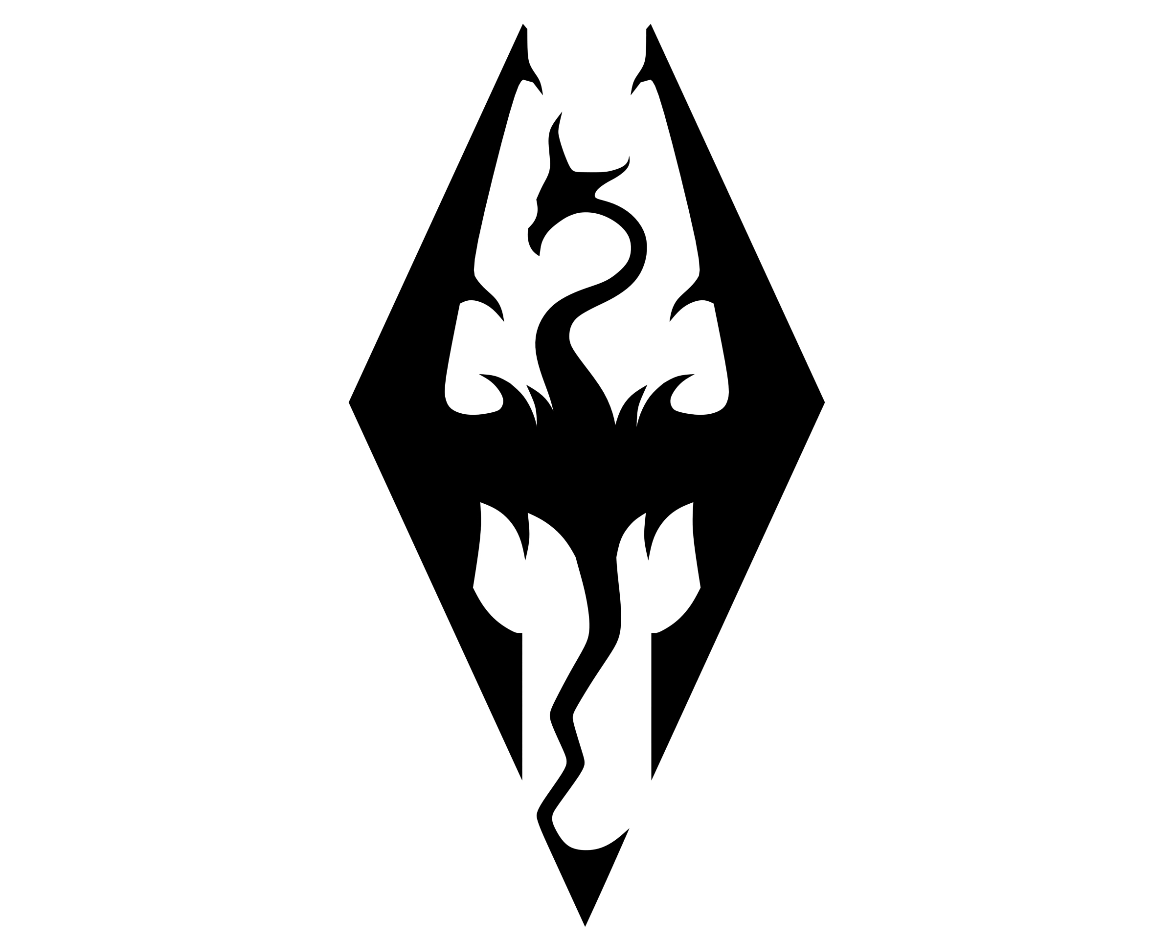 Meaning Skyrim Logo And Symbol