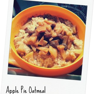 Munch my Monday #6 – Apple Pie Oatmeal