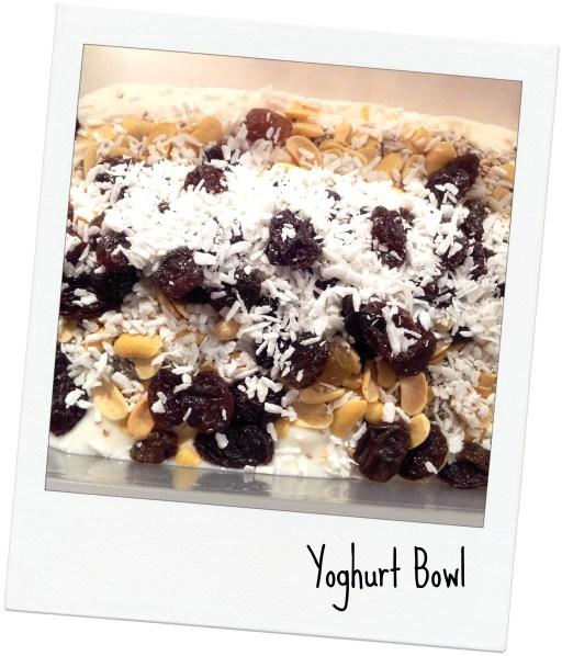 yoghurt bowl
