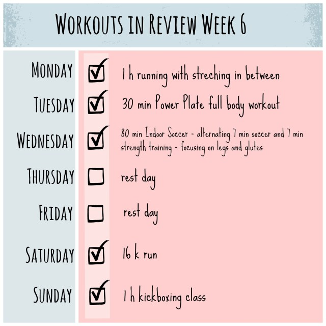 workout review 6