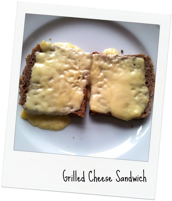 cheese sandwich