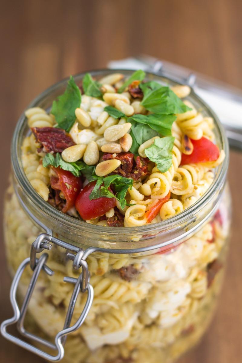 Pesto Pasta Salad-1