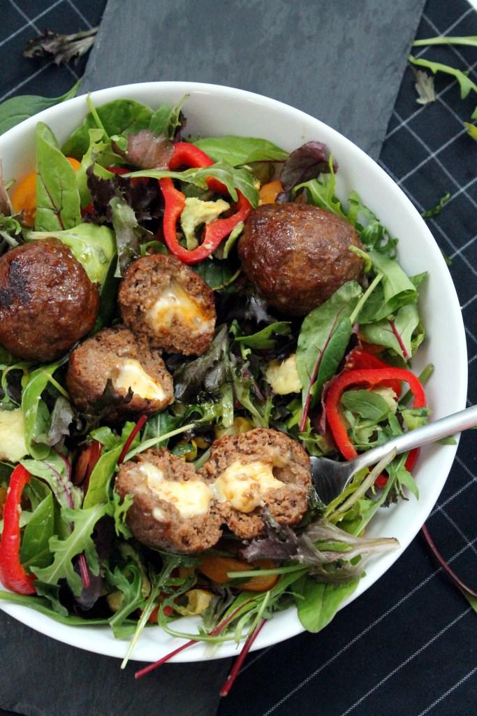 meatball-cheese-salad