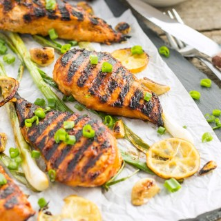 Lemon Garlic BBQ Chicken Recipe