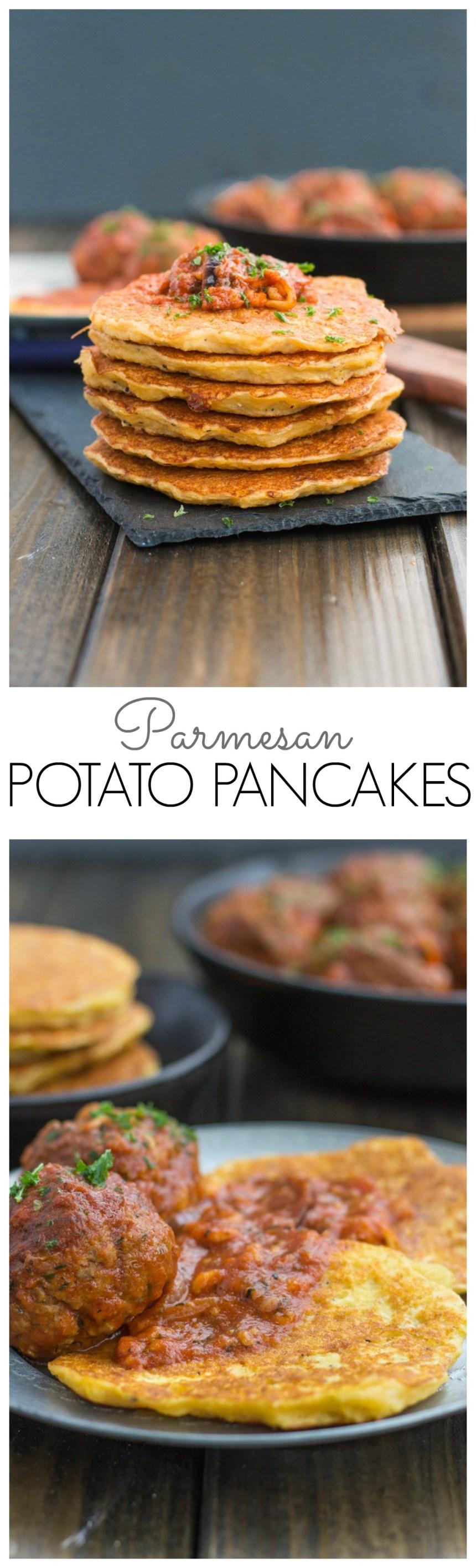 Parmesan Potato Pancake
