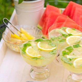 Lemon Basil Moscow Mule Recipe