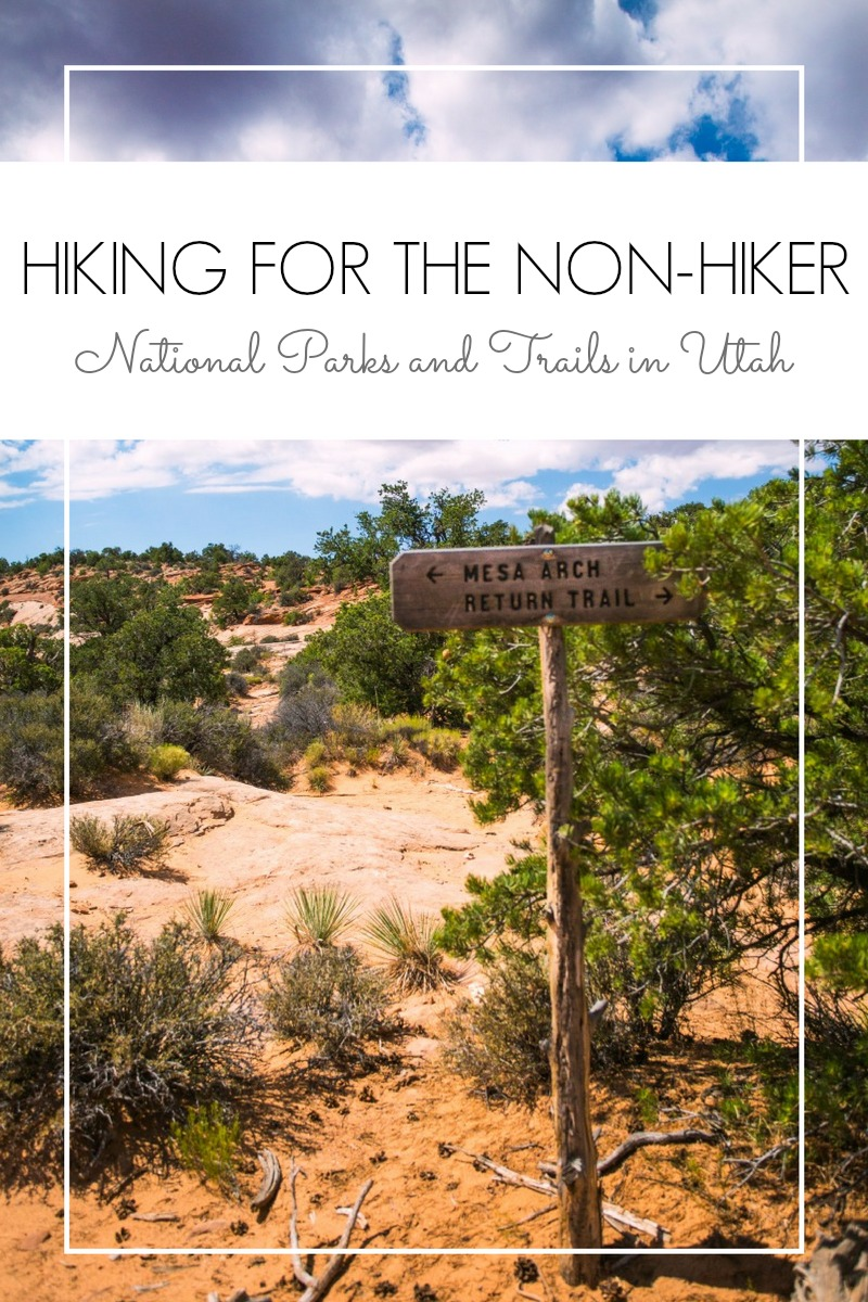 You enjoy a good view but hiking is not your thing? Here is a guide to Utah's National Parks for people who don't like to hike. Recommended trails included!