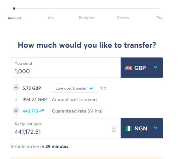 Payoneer exchange rate in Nigeria
