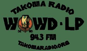 WOWD-LP Takoma Park 94.3FM logo