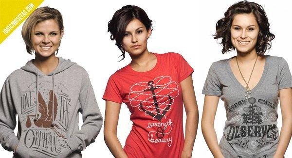 Sevenly camisetas para ellas