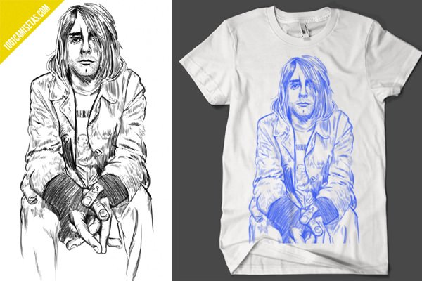 Art Warriors Kurt Cobain Varsity punk