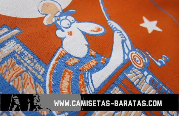 camiseta serigrafiada 3 tintas