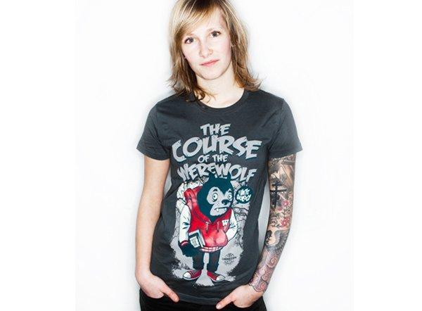 Camiseta werewolf La Fraise