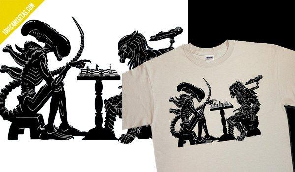 Camiseta Alien divertida