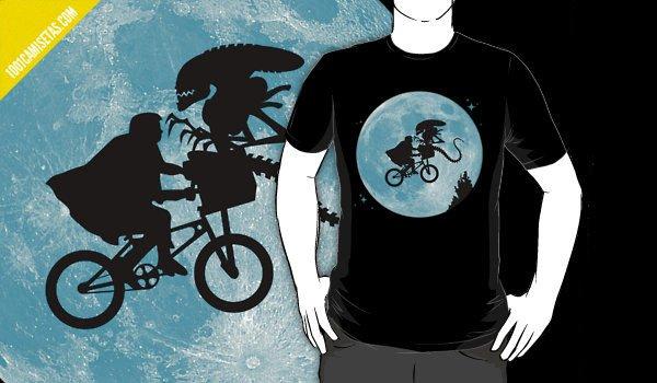 Camiseta Alien ET