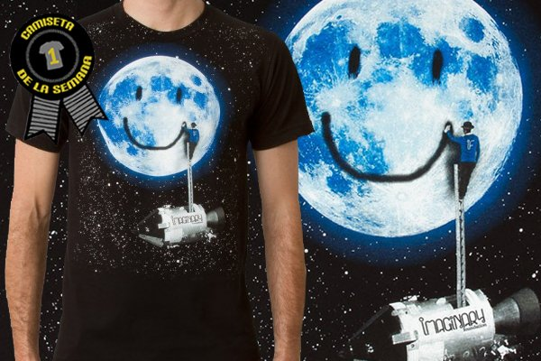 Camiseta de la semana Imaginary Moon tag